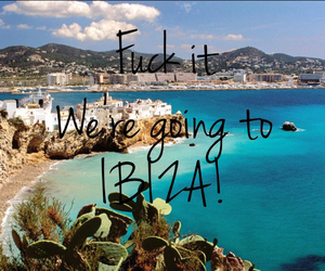 ibiza, beach, and spain image