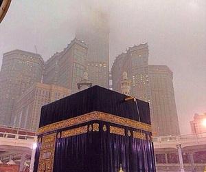 islam, rain, and la mecque image