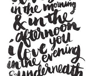 love, quotes, and morning image