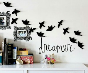 bird, Dream, and room image