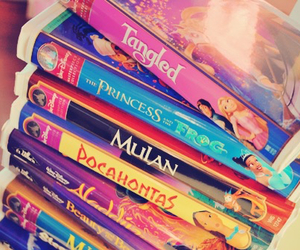 books, colorful, and disney image
