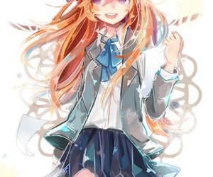 gekkan shoujo nozaki-kun, anime, and cute image