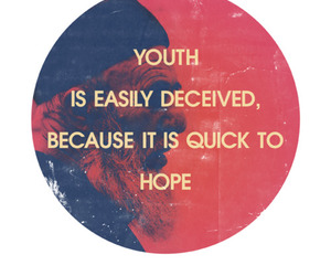 youth, quotes, and hope image