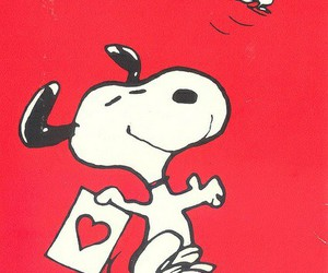 snoopy, san valentin, and wallpaper image