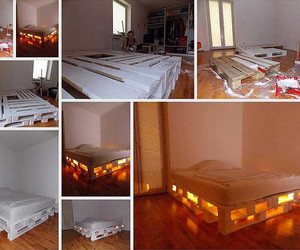 bed, eco, and recycle image