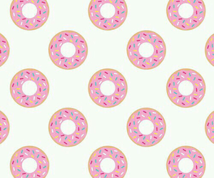 background, donnuts, and food image