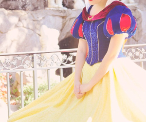 disney, snow white, and dress image