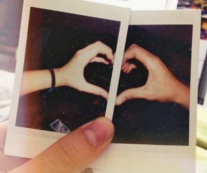 couple, heart, and love image