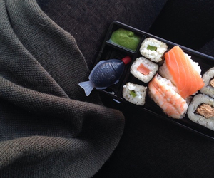 grunge, indie, and sushi image