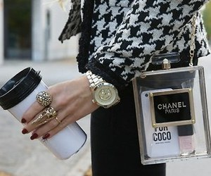 accessory, chanel, and coffee image