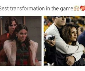 love, ashton kutcher, and Mila Kunis image
