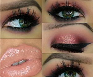 eyes, lips, and brows image