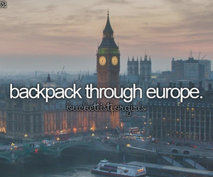 europe, travel, and bucketlist image