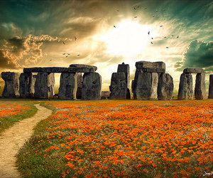 stonehenge, travel, and vacation image