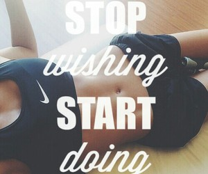 fit, motivation, and quote image