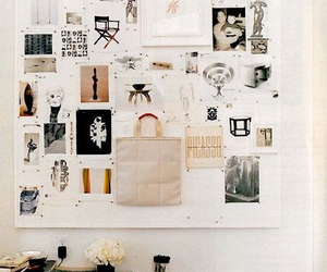 bag, decor, and pictures image