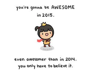 awesome, believe, and happiness image