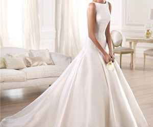 bride, gown, and rosa clara image