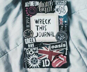 wreck this journal, band, and 5sos image