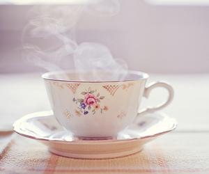 tea, cup, and vintage image