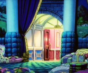 animation, illustration, and night image