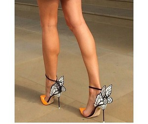 bees, butterflies, and shoes image