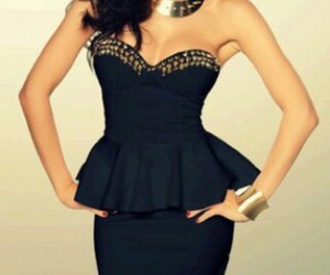 awesome and black dress image