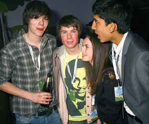 skins, anwar, and chris image