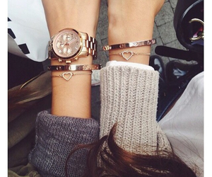 best friends, cartier, and girls image