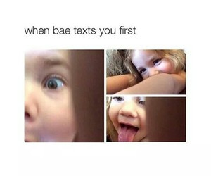 bae, text, and lol image