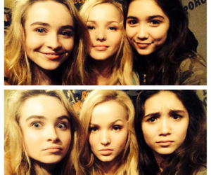 sabrina carpenter, dove cameron, and rowan blanchard image