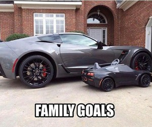 boy, cars, and family image