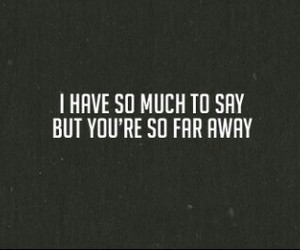 avenged sevenfold, far away, and say image