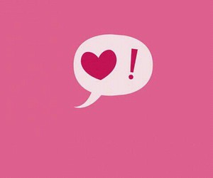 heart, !, and love image