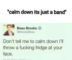 band, one direction, and funny image