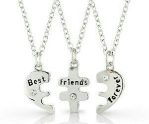friends, bff, and jewelry image