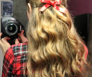 bow, hair, and 2015 image