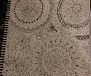 art, circles, and doodle image