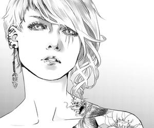 anime, tattoo, and art image