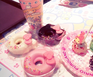 hello kitty, kawaii, and food image