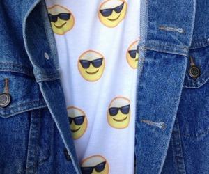 emoji, grunge, and shirt image