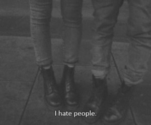 hate, people, and grunge image