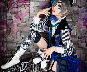 anime cosplay, black butler cosplay, and cute anime boy cosplay image