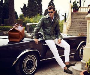 car, man, and luxury image