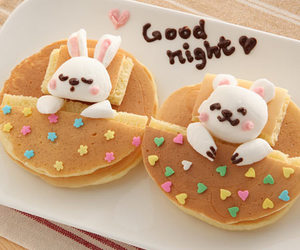 food, pancakes, and sweet image