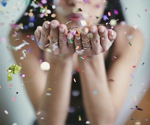 celebrate, party, and rings image