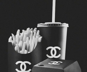 chanel and fast food image