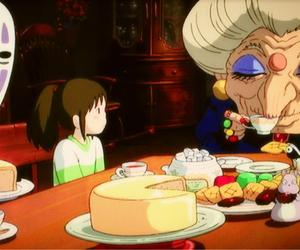 animation, illustration, and sentochihironokamikakushi image