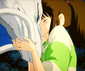 animation, haku, and illustration image