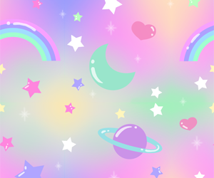 cute and space image